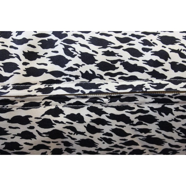 Jim Thompson Orange Thai Elephant Pillow For Sale - Image 4 of 6