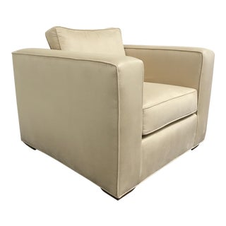 RJones Tuxedo Lounge Chair For Sale