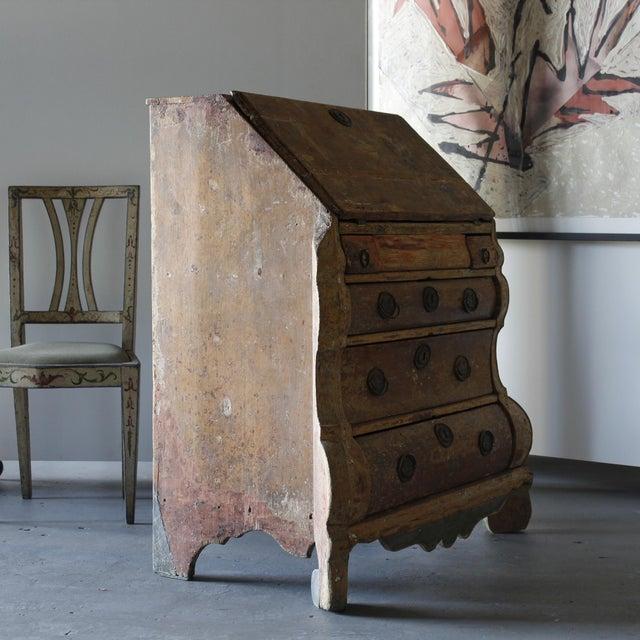 18th Century Dutch Rococo Painted Desk