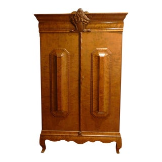 18th C. Swedish Biedermeier Armoire Media Center