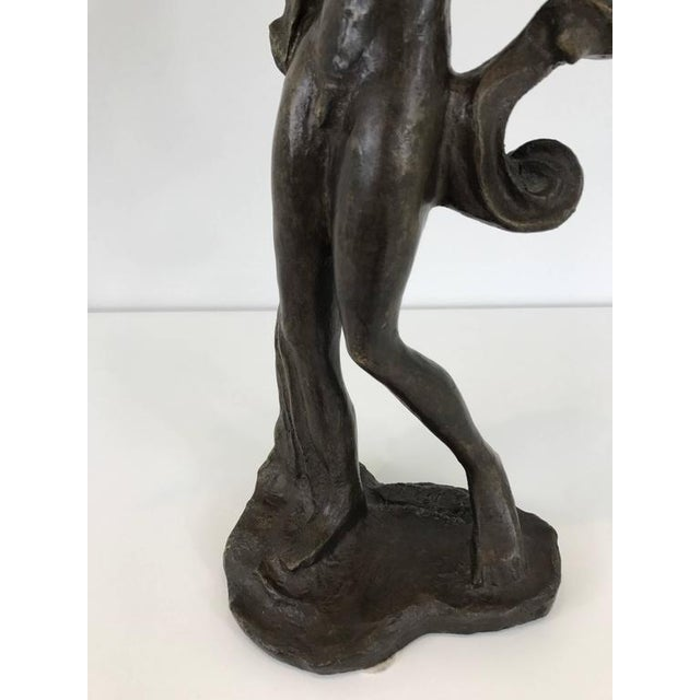 Salvador Dali Birdman Bronze Sculpture For Sale In Philadelphia - Image 6 of 8
