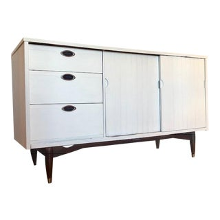 1960s Campaign Mainline by Hooker Credenza For Sale