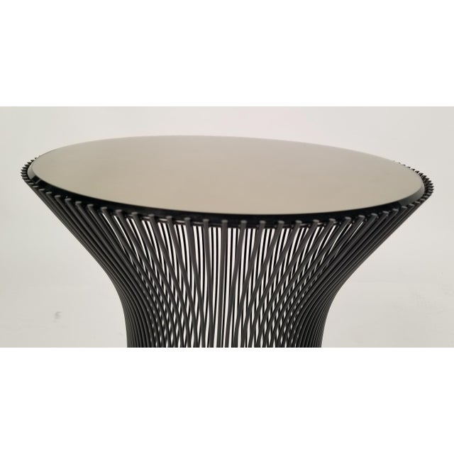 Bronze Early Bronze Side Tables by Warren Platner for Knoll, 1966 - a Pair For Sale - Image 7 of 9