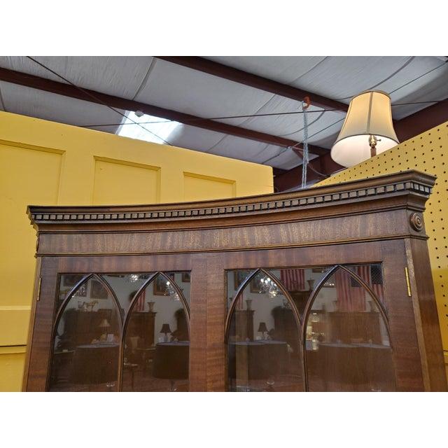 Vintage Mahogany Corner Cabinet For Sale In Houston - Image 6 of 13