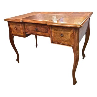 Antique 19th C. Figured Walnut Desk