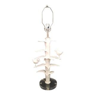 Birds on a Limb Lamp For Sale