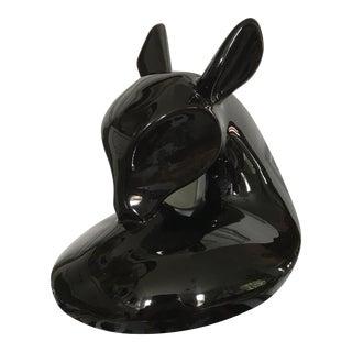 Vintage Modern Deer Sculpture For Sale