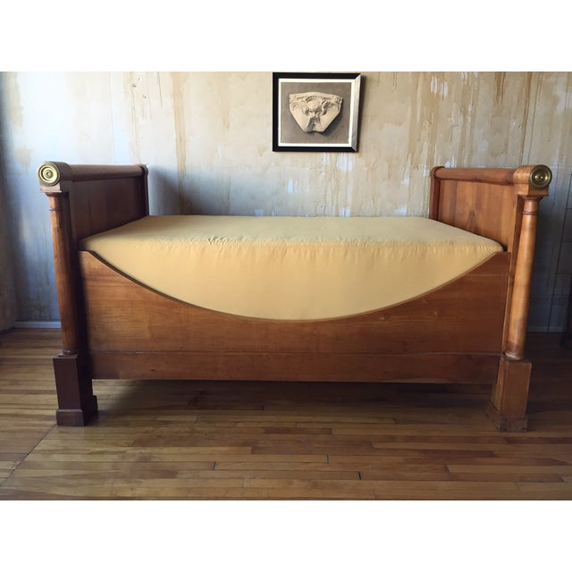French Empire-Style Daybed - Image 2 of 8
