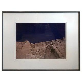 Late 20th Century Howard Rosenfeld Slipping Rock Photograph For Sale