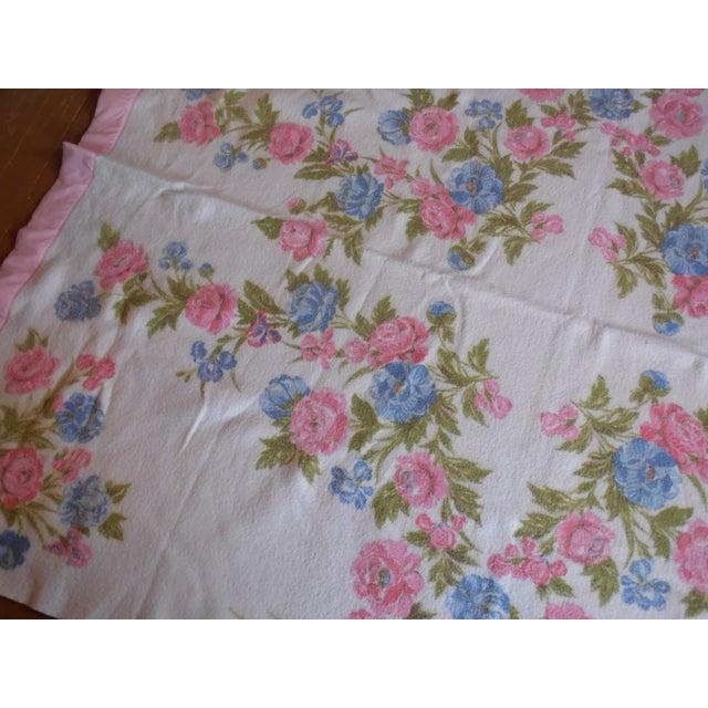 Vintage Shabby Chic Blanket - Image 4 of 5