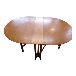 Mid Century Modern Nathan Furniture Drop Leaf Table For Sale