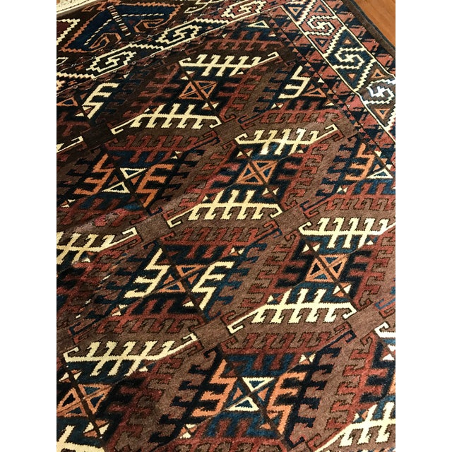 Antique Yomud Carpet - Image 4 of 4