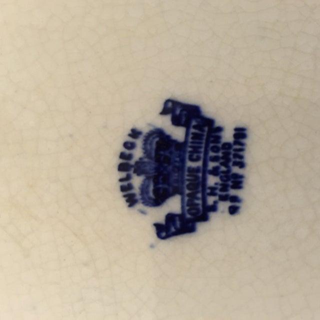 Ironstone Blue & White Platter - Image 4 of 4