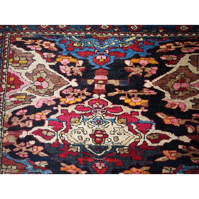 Antique Persian Isfahan Rug - 4′3″ × 6′ - Image 6 of 7