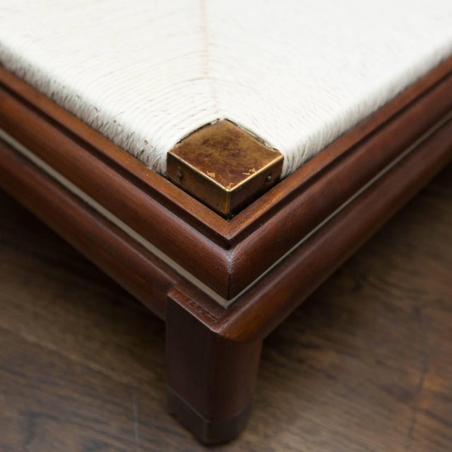 White Renzo Rutili Midcentury Cabinet Bench for Johnson Furniture For Sale - Image 8 of 10
