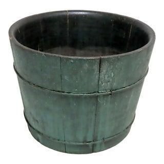 Antique American Country Primitive Farm Bucket For Sale