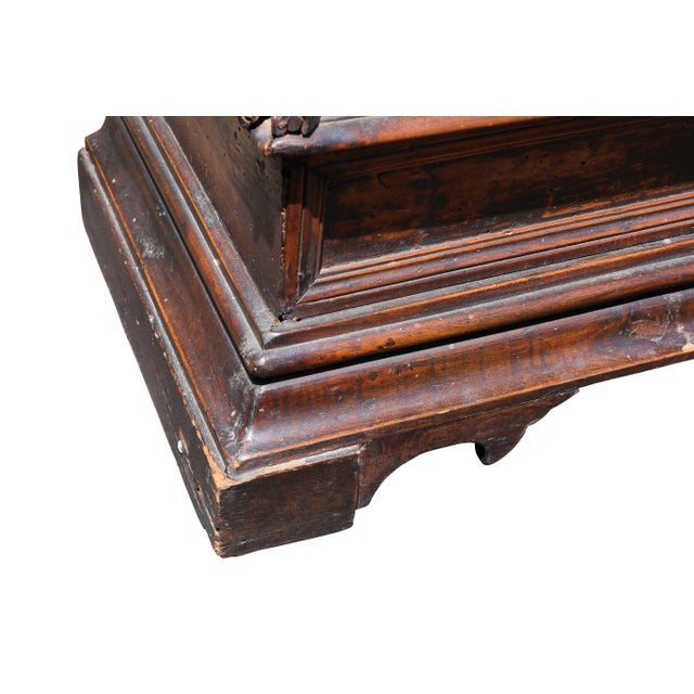Italian Baroque Walnut Commode For Sale In Boston - Image 6 of 10