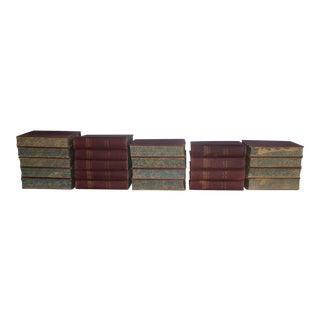 Elaborate 1891 Set Encyclopedia Britannica, 22 Volumes For Sale