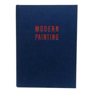 "1960 Coffee Table Display Book""Modern Painting"", Skira Color Studio For Sale"