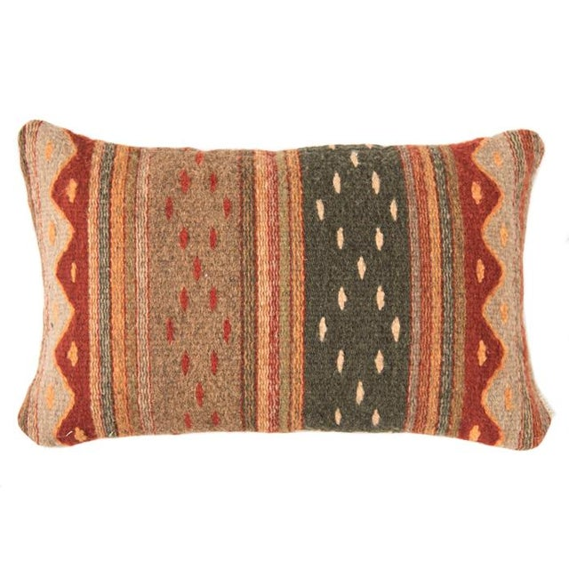 Red Wool Oaxacan Pillow - Image 1 of 5