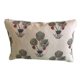 "Katie Leede & Co ""Thebes"" 12 X 18 Lumbar Pillow For Sale"