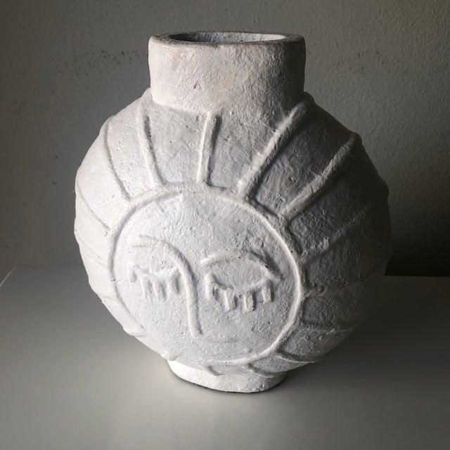 Vintage Danish Mid Century Face Vase For Sale - Image 4 of 9