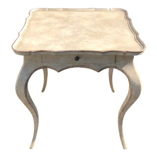 Michael Taylor Panache Pavillion Game or End Table For Sale