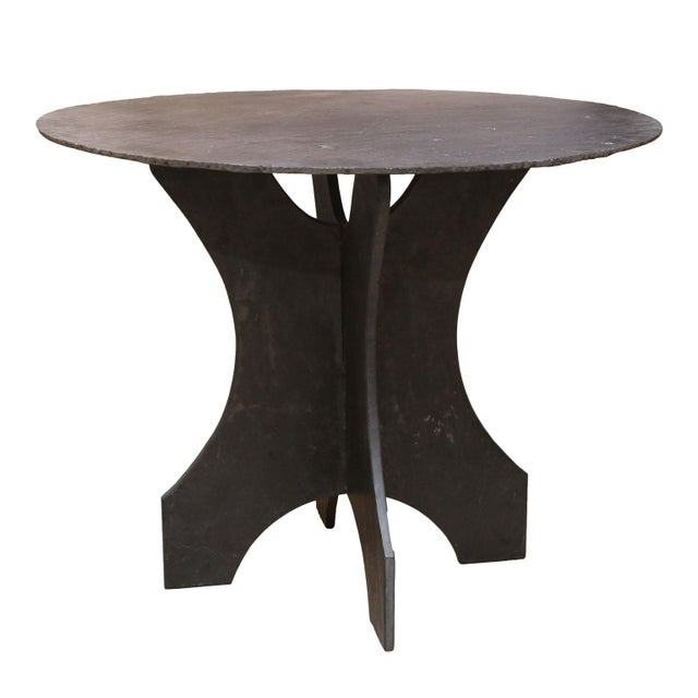 Stone French Table d'Ardoise For Sale - Image 7 of 7