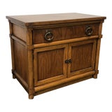 Image of Thomasville Stroupe Faux Bamboo Nightstand For Sale