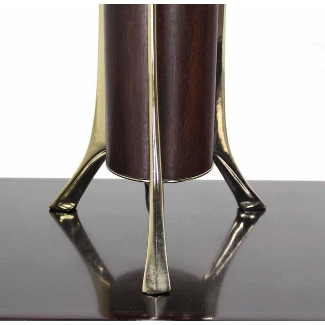 Mid-Century Modern Mid-Century Tripod Base Table Lamp by Laurel For Sale - Image 3 of 8
