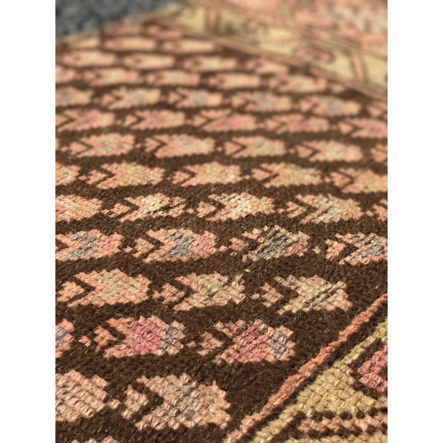 "Antique Persian Malayer Rug - 2'3"" x 3' - Image 11 of 11"
