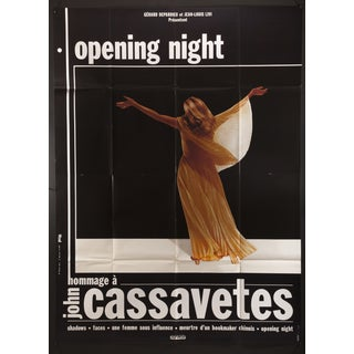 """French John Cassavetes """"Opening Night"""" Poster For Sale"""
