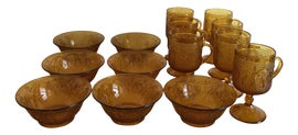 Image of Amber Serving Bowls