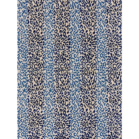 Traditional Scalamandre Corbet Jacquard, Blue For Sale - Image 3 of 3