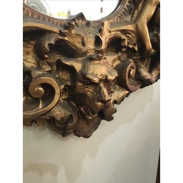 Baroque Cherub Mirror For Sale - Image 4 of 10
