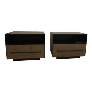 West Elm Massaro Nightstands - A Pair