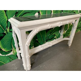 Roche Style Gampel Stoll Console Table and Mirror Preview
