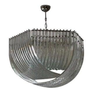 Murano Glass Sputnik Arch Triedo Chandelier