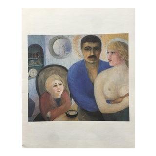 1970s D. H. Lawrence, Ten Paintings Portfolio For Sale