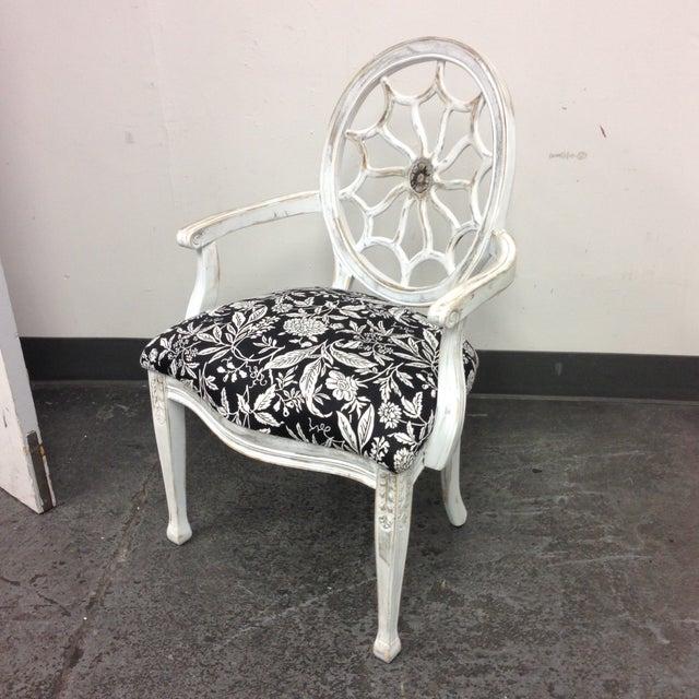John Widdicomb Medallion Arm Chair - Image 2 of 10