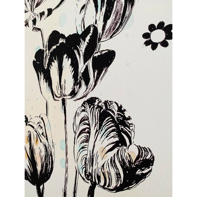 Last Markdown: Tulipiere 220 Framed Fine Art Giclee on Canvas For Sale - Image 9 of 9