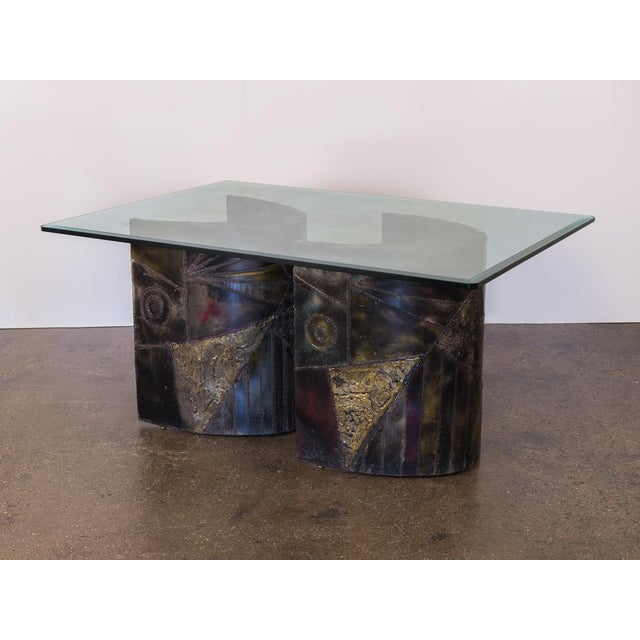 Directional Paul Evans Pe-24 Pedestal Table for Directional For Sale - Image 4 of 12