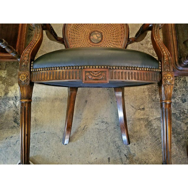 Late 20th Century French Bergere Chair by Theodore Alexander For Sale - Image 5 of 9