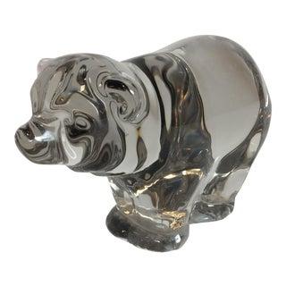 Orrefors Glass Bear