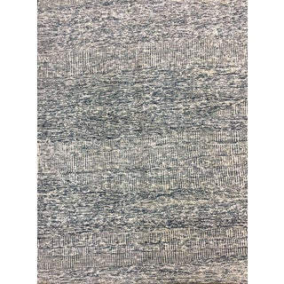Modern Turkish Flat-Weave Hemp Rug 9'9 X 13'2 For Sale
