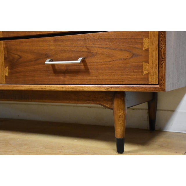 Lane Acclaim Mid-Century Walnut Dresser For Sale - Image 11 of 11