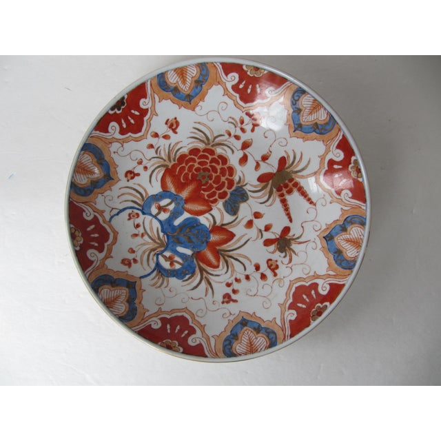 Blue & Orange Chinese Bowl For Sale - Image 5 of 5