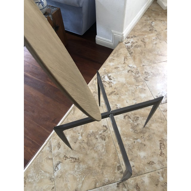 2000 - 2009 Contemporary Arteriors Foldable Side/Tray Table For Sale - Image 5 of 7