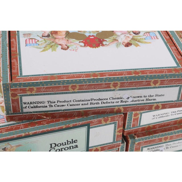Vintage Mantequilla Cigar Boxes - 9 Pieces For Sale In Providence - Image 6 of 7