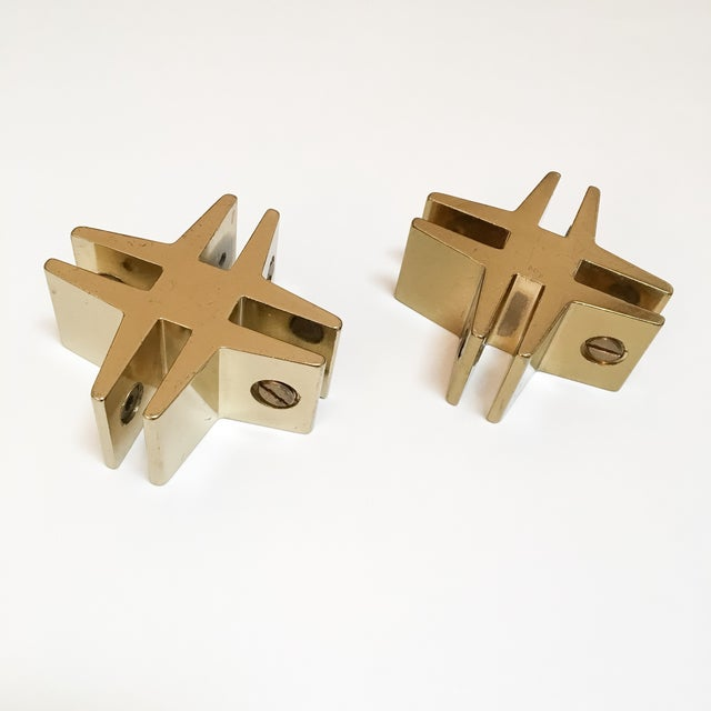 Brass Hashtags with Screw Detail - Pair - Image 2 of 9